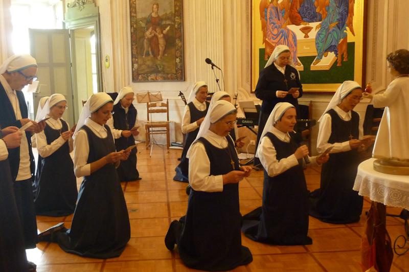Zesłanie Ducha Świętego w Cenacolo