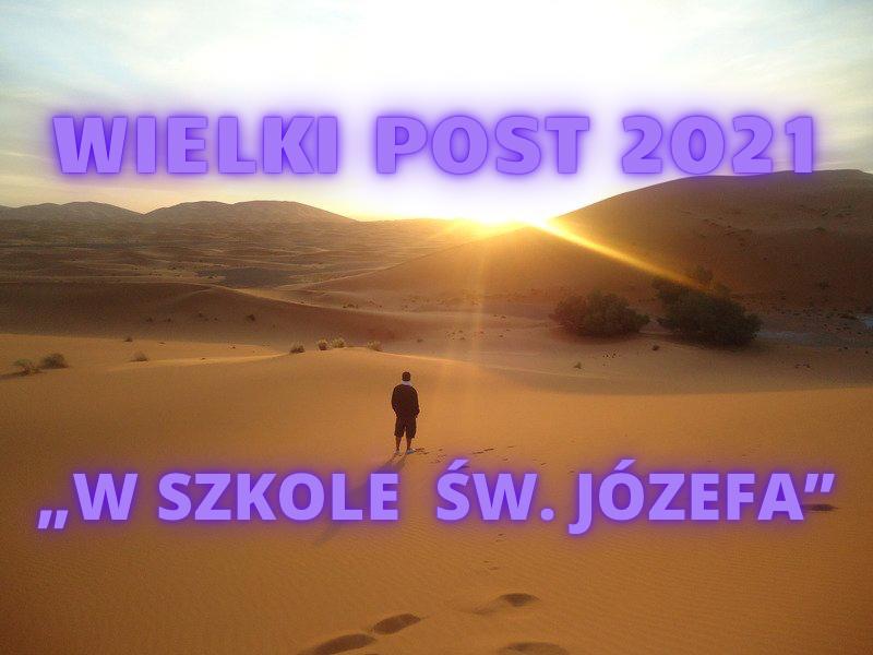 WIELKI POST 2021